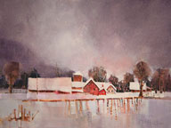 Watercolorist Peter Huntoon will be at the Birch Ridge Inn on Thursday March 28th