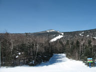 Whispy clouds, warm temps... a bluebird day in Killington