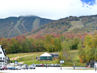 Fall colors surround Killington