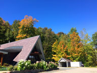 Fall colors popping in Killington around the Birch Ridge Inn