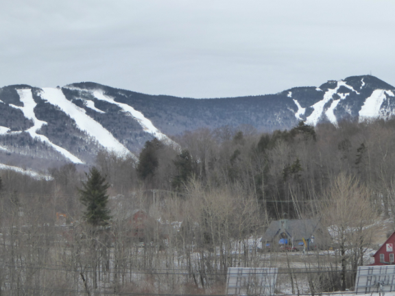 Killington Peak still enveloped in snow