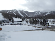 Killington Resort totally covered in snow